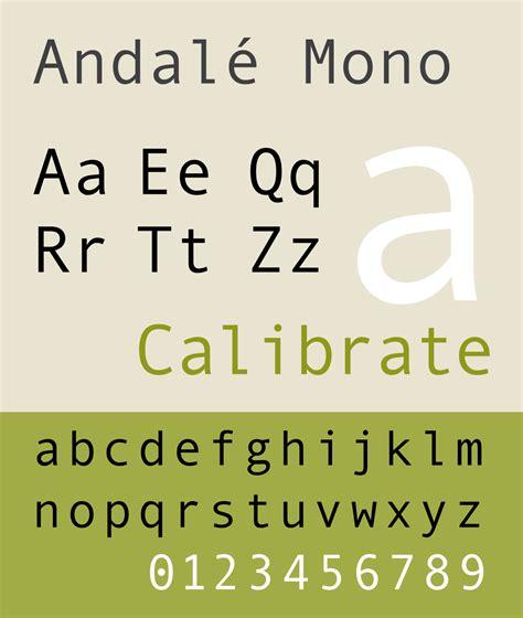 list  monospaced typefaces wikipedia