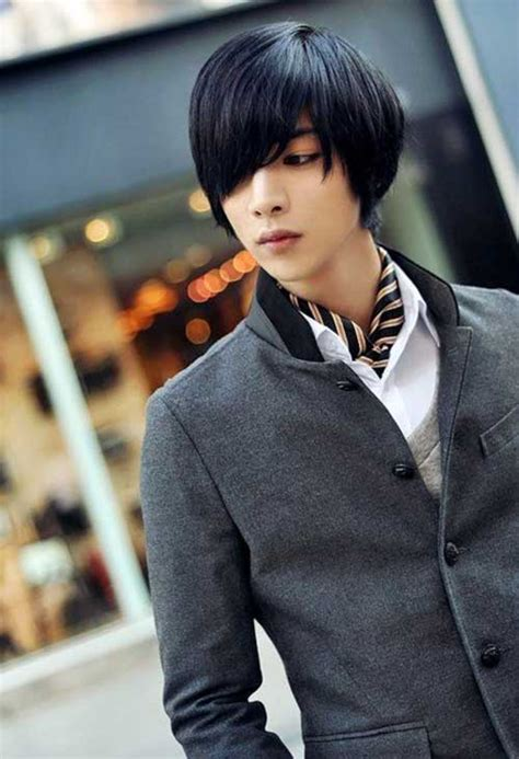 classical japanese men hairstyles   mens