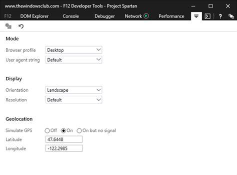 edge agent change geolocation microsoft developer tools developers tags