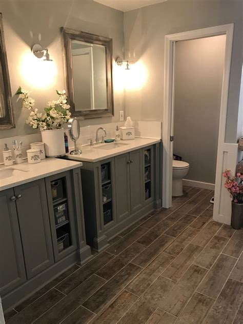 bathroom remodel master bathroom grey bathroom fixer