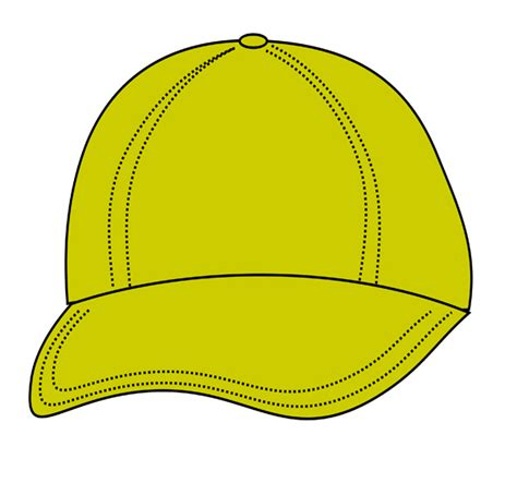 yellow hat clipart clipground