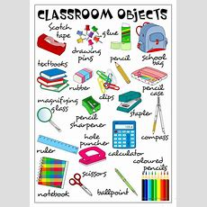 Clasroom Objects  Poster Worksheet  Free Esl Printable Worksheets Made By Teachers