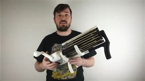 kirby downeys  printed machine gun brilliantly replaces bullets  rubber bands dprint