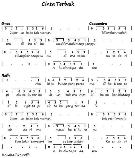 kunci gitar lagu mengheningkan cipta not balok lagu indung indung 100 not angka lagu pop pianika anak anak balok