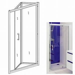 Paroi De Douche Pliante : paroi de douche enlok porte pliante 203010111 ~ Melissatoandfro.com Idées de Décoration