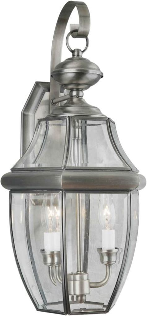 forte lighting 1301 02 34 antique pewter outdoor wall