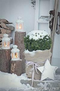 Die Schönsten Weihnachtsdekorationen : die besten 25 weihnachtsdeko hauseingang ideen auf pinterest deko weihnachten deko ~ Markanthonyermac.com Haus und Dekorationen