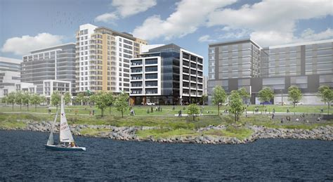 waterfront development inks  tenant  renderings