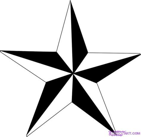 drawn tattoo star pencil   color drawn tattoo star