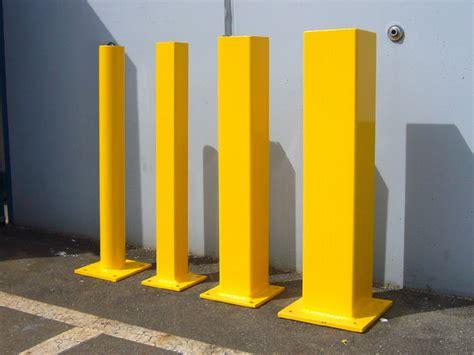 steel bolt  bollards bc site service
