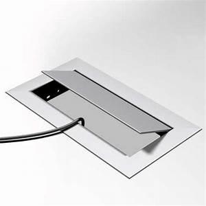 Passe Cable Plan De Travail : passe c ble rectangulaire mho achat vente passe c ble rectangulaire mho ~ Nature-et-papiers.com Idées de Décoration