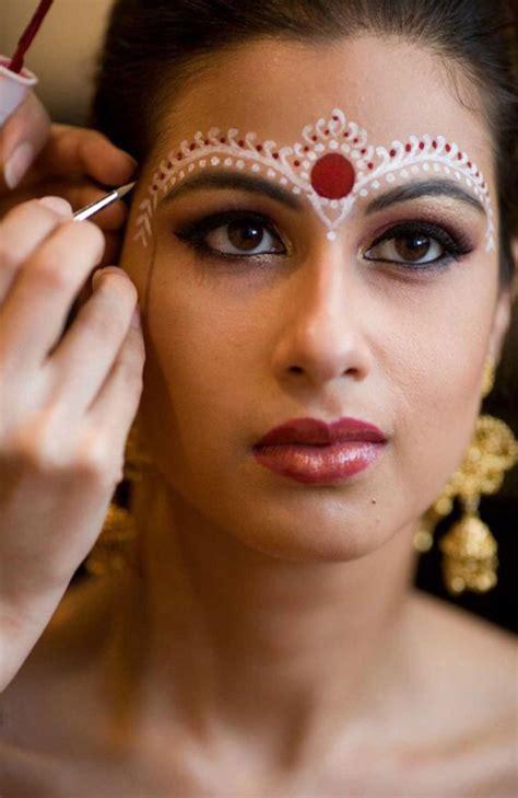 bengali bridal makeup   amazing pics