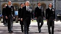Queen Elizabeth II bids farewell at funeral of Prince ...