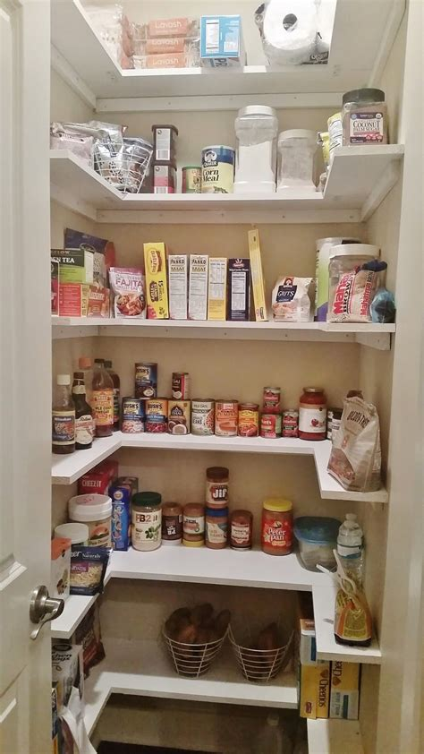 kitchen pantry makeover replace wire shelves  wrap