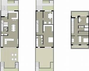 Schmale Häuser Grundrisse : wie wird ein reihenhaus individuell reihenhaus grundrisse und stadthaus ~ Indierocktalk.com Haus und Dekorationen