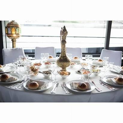 Restaurant Serviette Blanc Suivant