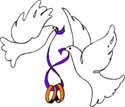 wedding doves clipart clipart suggest