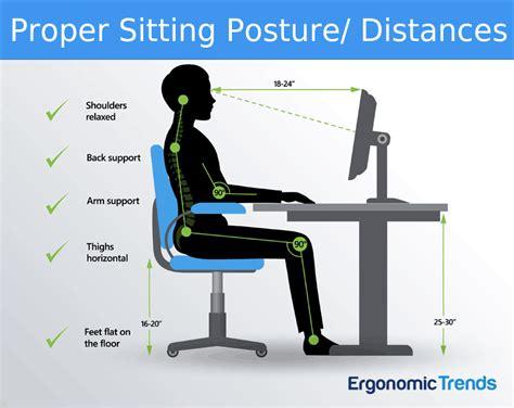 ergonomic sitting at desk office chair proper ergonomics chairs seating