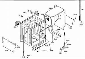 Bosch She43m05uc  48 Dishwasher Parts