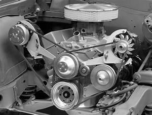 Alan Grove Chevelle Steel Alternator   Power Steering Bracket Sb Chevy Sbc 600l