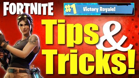 fortnite battle royale tips  tricks fortnite tips