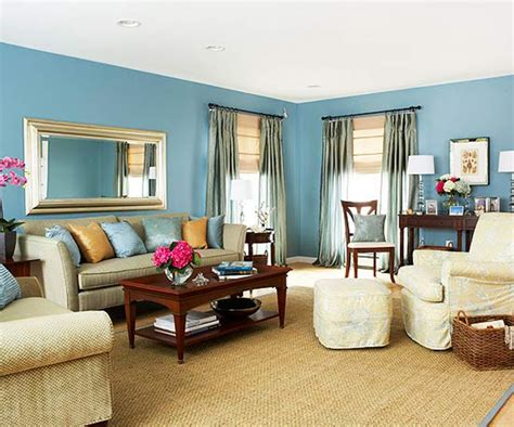 Teal Living Room Decor