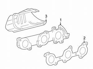 Toyota Tundra Exhaust Manifold  Liter  Federal  Right