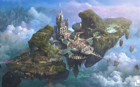 floating city adventure seeds ready  role