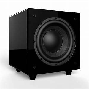 Nero Dual X8 8 U0026quot  Dynamic Powered Subwoofer With Active And