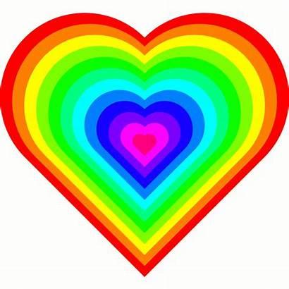 Rainbow Heart Animation Unsee Hearts Icon