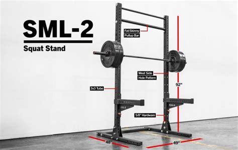 rogue squat rack sml 2 rogue 90 quot lite squat stand rogue fitness