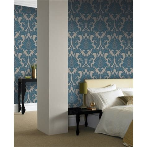 Superfresco Easy Majestic Teal 52cm X 10m Wallpaper