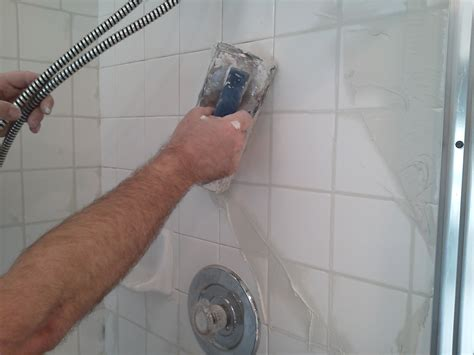 Regrout Floor Tiles Bathroom by How To Regrout A Shower Pristine Tile Carpet Cleaning