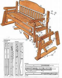 Woodworking Plans Porch Swing WoodCrafts