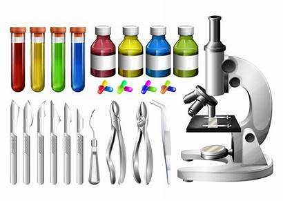 Medical Equipment Vector Clip Containers Clipart Microscope