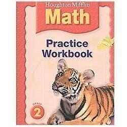 Houghton Mifflin Math Practice Book Grade 2 By Houghton Mifflin 0618698752 Ebay