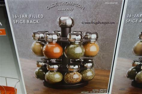 Olde Thompson 16 Jar Orbit Spice Rack by Costco Sale Olde Thompson 16 Jar Filled Orbit Spice Rack