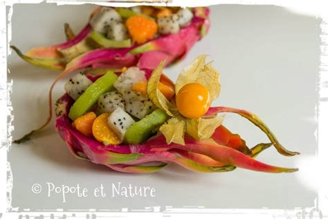 cuisiner les coques recette de salade de fruits exotiques au fruit du