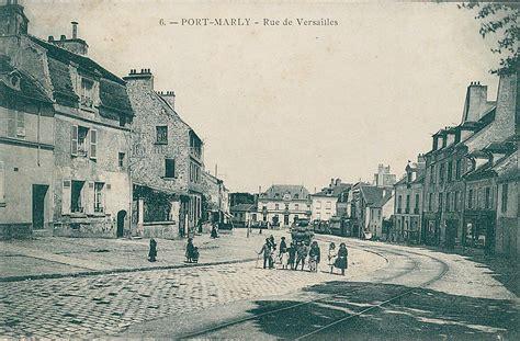 mairie rue de versailles port marly m 233 moire vivante cartes postales