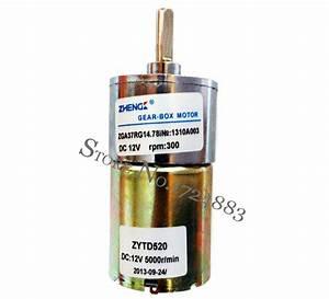 Wholesale Zga37rg13 5i 5000 12v Dc Motor 200rpm Output