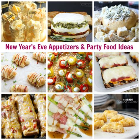 new year s appetizer ideas new year s eve appetizers party food ideas a little claireification