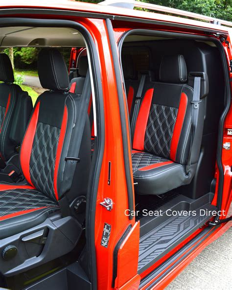 ford transit custom sport crewcab seat covers
