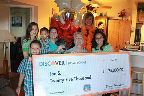 Discover Home Loans Rewards Program