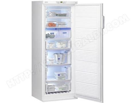 congelateur a tiroir whirlpool afg8184wh pas cher cong 233 lateur armoire whirlpool livraison gratuite