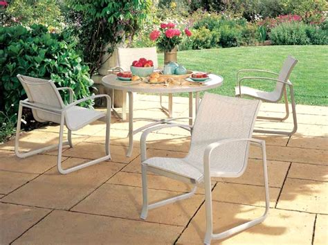 modern outdoor furniture spinnaker sling patio tropitone
