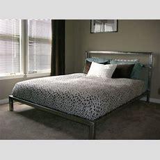 Handmade Welded Platform Bed By Steric Design Custommadecom