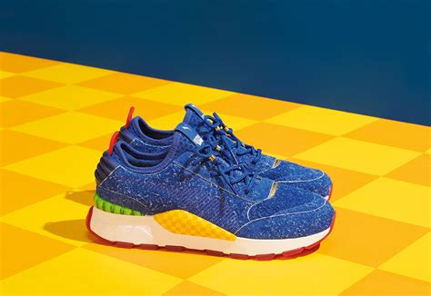 sega  pumas sonic  hedgehog shoe release launch