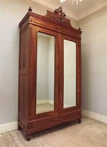 IF3001ANTIQUE FRENCH HENRI II STYLE ARMOIRE