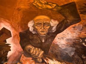 murales de jos 233 clemente orozco en palacio de gobierno