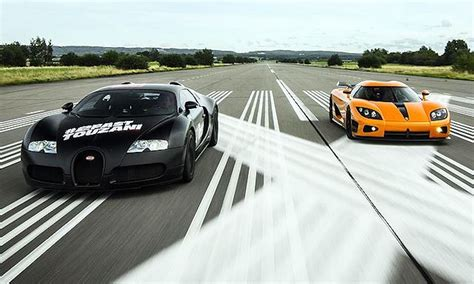 Bugatti Veyron Vs Koenigsegg Ccxr! Which Supercar Is Faster?